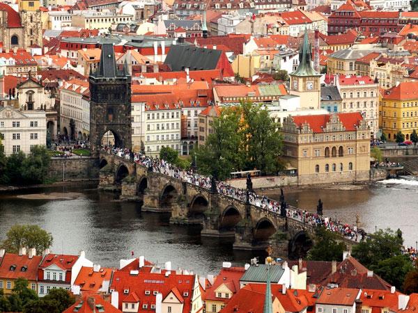 Chuyển phát nhanh dhl đi Cộng Hòa Séc (Czech Republic)