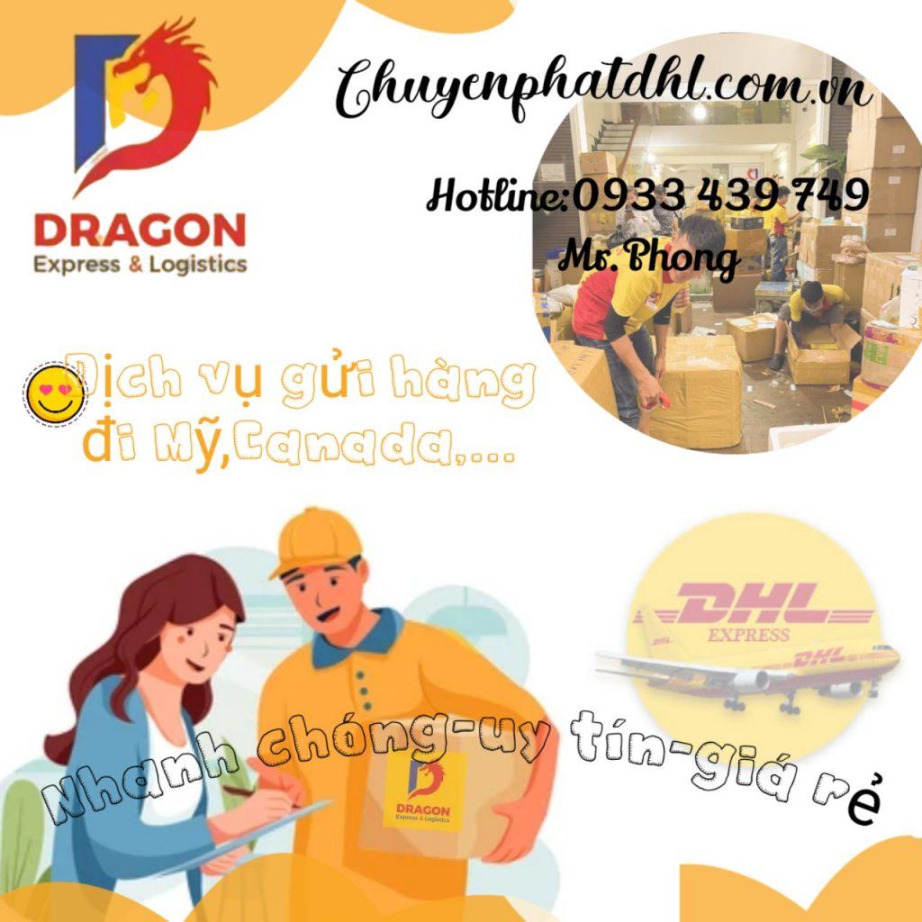 Dịch vụ gửi đồ đi Mỹ tại huyện Hóc Môn