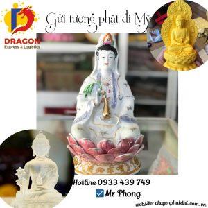 Gửi Tượng Phật đi Mỹ tại Trà Vinh