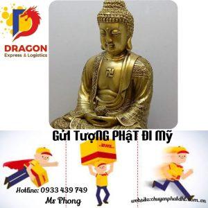 Gửi Tượng Phật đi Mỹ tại Bình Phước