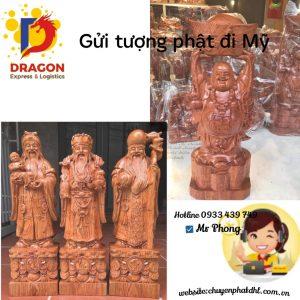 Gửi Tượng Phật đi Mỹ tại Cần Thơ